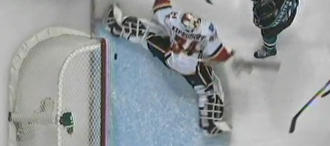 Kiprusoff's 'Hacky Sack' Save Stymies San Jose During Power Play Frenzy, Flames Win