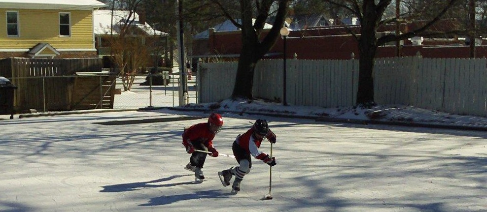 'Parking Lot Hockey' In Charlotte, NC (Hat Tip To Reader Erin)