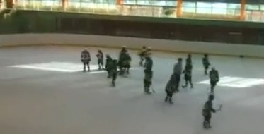 Under-10 KHL-Wannabees Duke It Out (video)